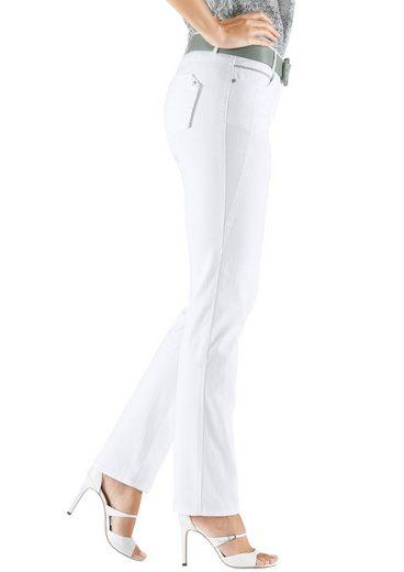 Classic Inspirationen Jeans mit Zierperlenbänder