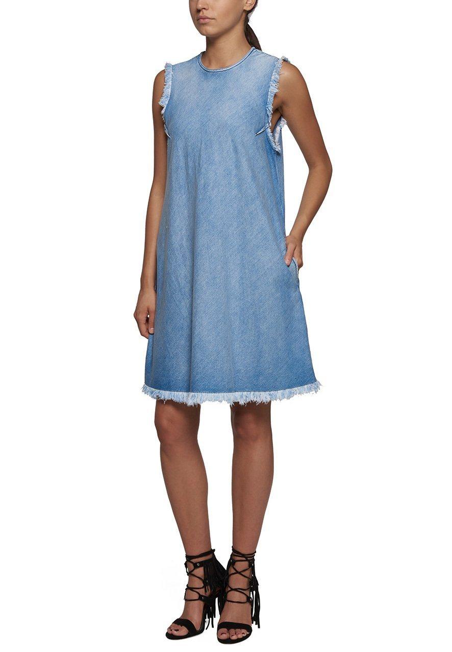 REPLAY Jeanskleid »MIT FRANSEN« von OTTO - Ihr Online-Shop - Teil in black - Schwarz für 129,00€