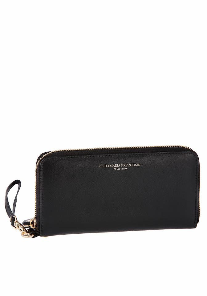 GUIDO MARIA KRETSCHMER Geldbörse, aus hochwertigem Leder mit Smartphonefach