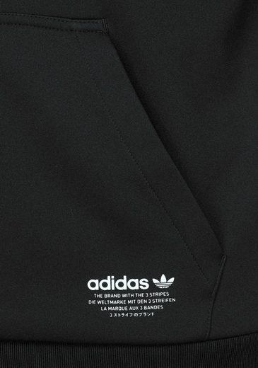 Adidas Original Sweat À Capuche Nmd D-fz À Capuche, Intérieur Équipé De Polaire