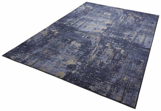 Teppich »Golden Gate«, MINT RUGS, rechteckig, Höhe 10 mm, Velours, Kurzflor