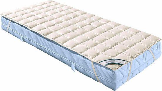 Matratzenauflage »Wash Cotton«, f.a.n. Schlafkomfort, 1,5 cm hoch, Baumwolle