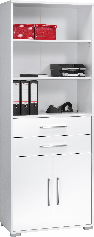 Maja Möbel Aktenschrank »System« | Büro > Büroschränke > Aktenschränke | Weiß - Grau - Glanz | Sonoma - Melamin | Maja Möbel