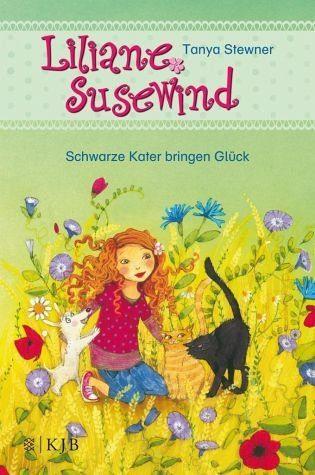 Gebundenes Buch »Schwarze Kater bringen Glück / Liliane...«