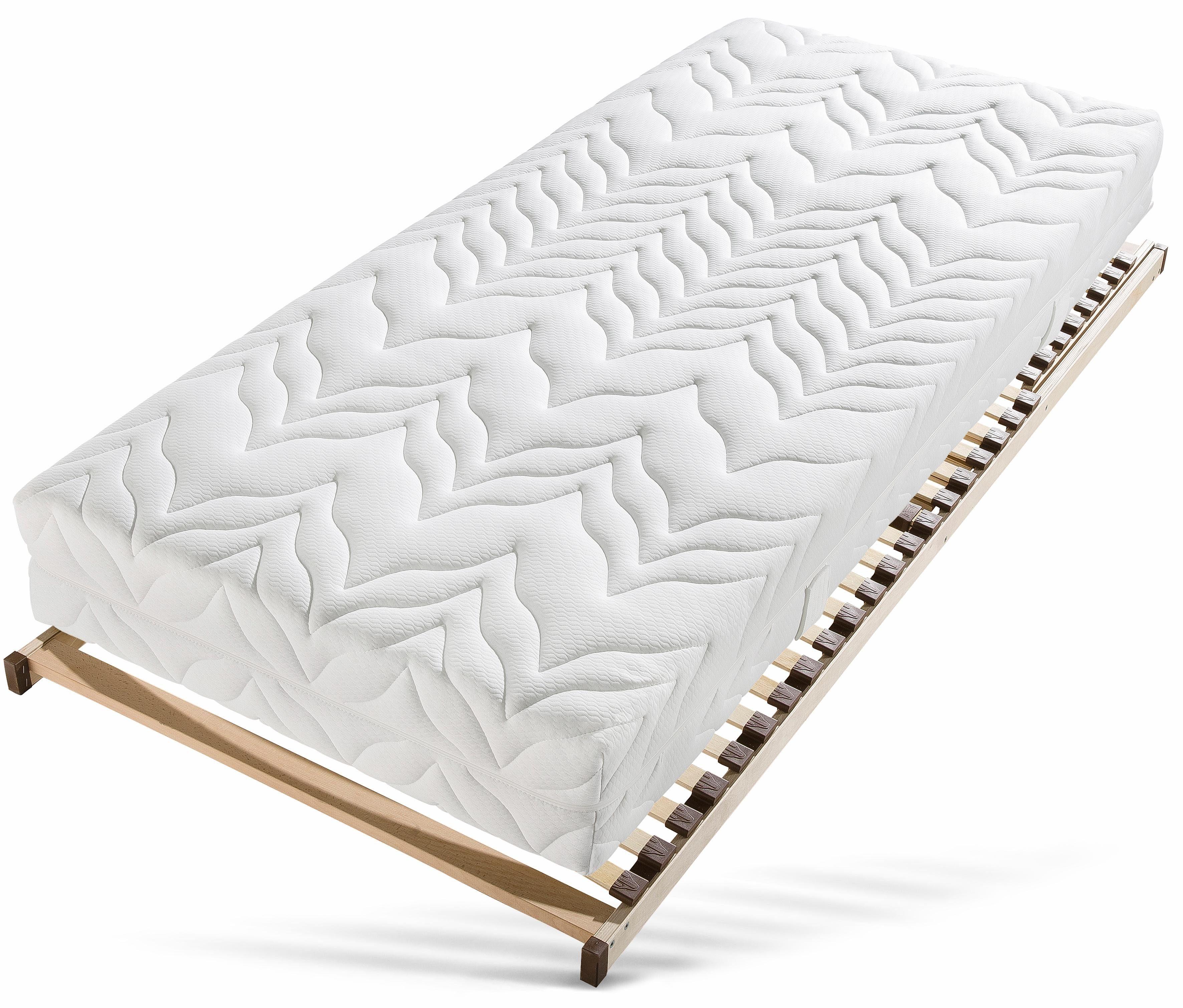 bett mit lattenrost 100x200 betten und matratzen kaufen. Black Bedroom Furniture Sets. Home Design Ideas