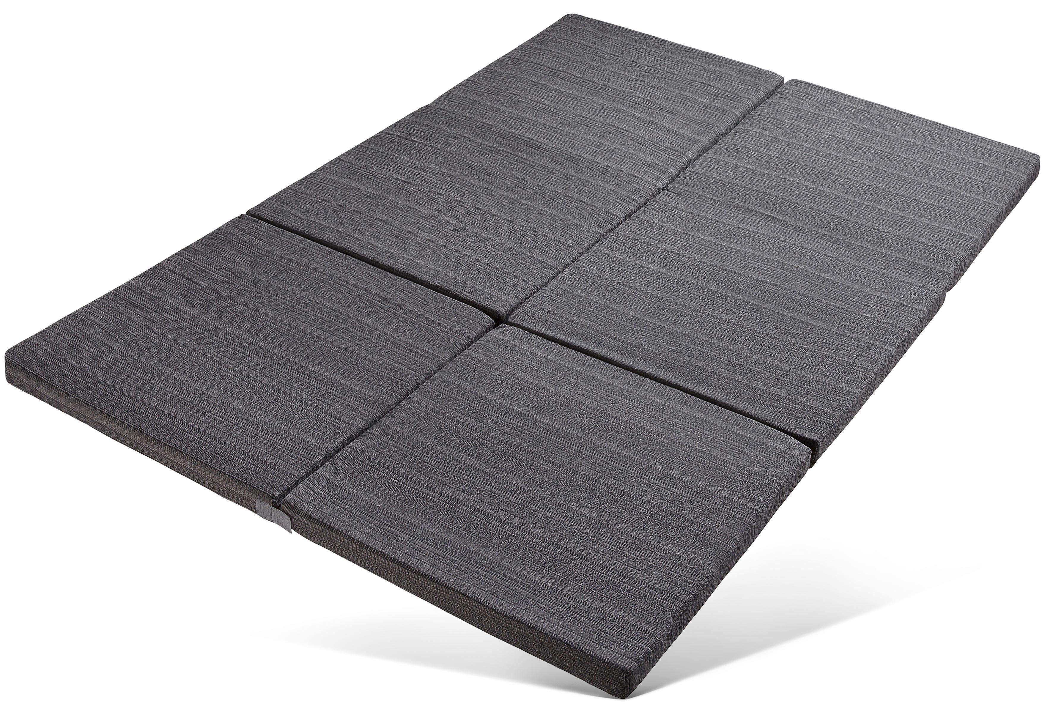 Klappmatratze, »Elli«, RIBECO, 6 cm hoch, Raumgewicht: 25, mit Möbelstoff-Bezug