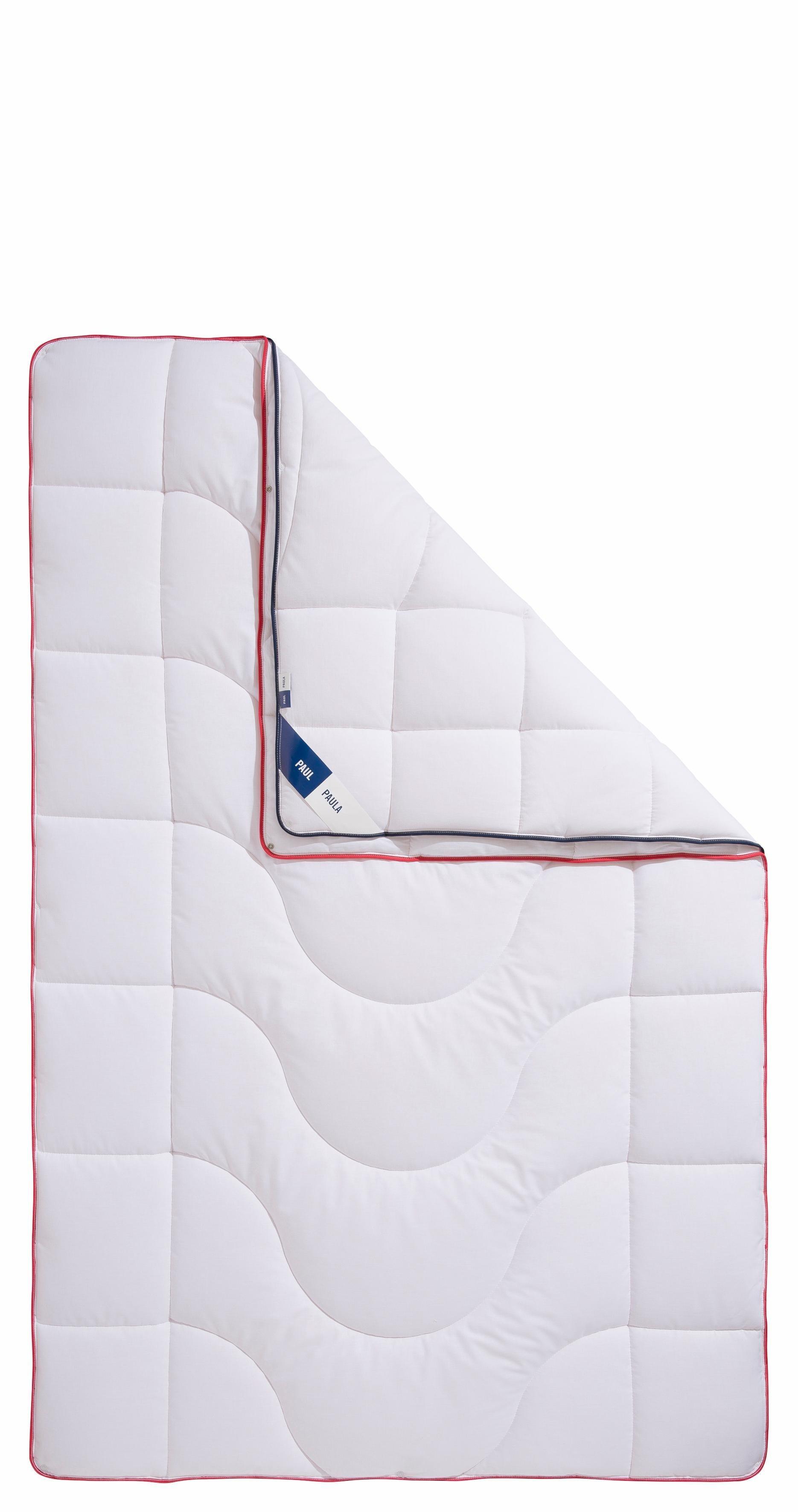 »One Fits All Bettdecke«, Paul-Paula, 4-Jahreszeiten, klimaregulierend, Baumwolle 155x220 cm thumbnail
