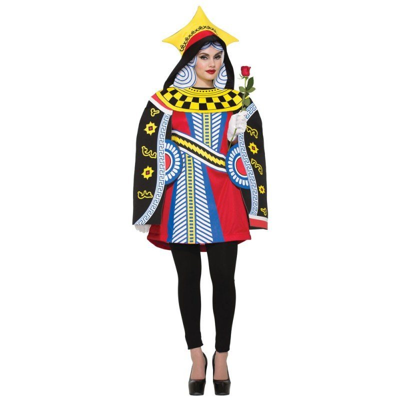 Herzdame Spielkarten Kostüm - S/M online kaufen