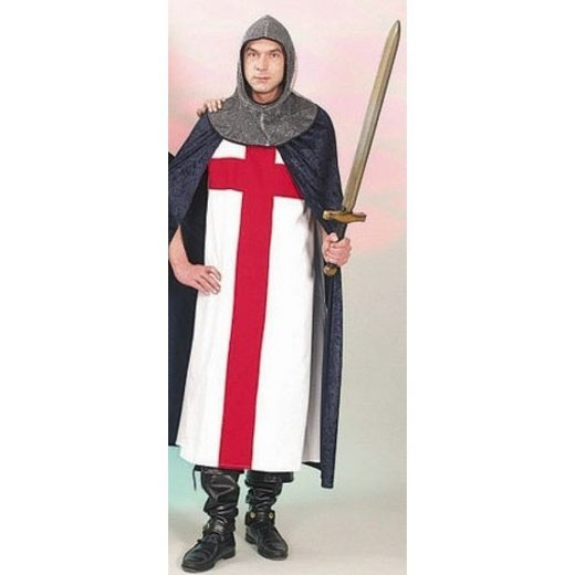 Siegmund Kreuzritter Kostüm - Einheitsgröße (M-XL)