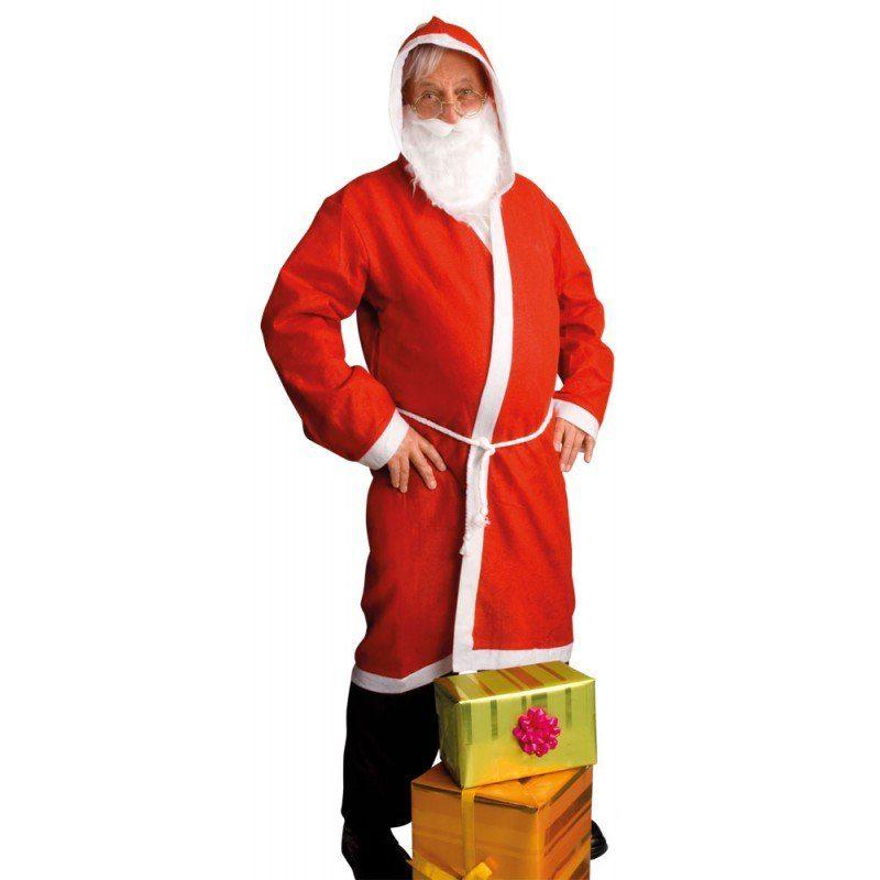 Easy Weihnachtsmann Kostüm 3-teilig - M/L