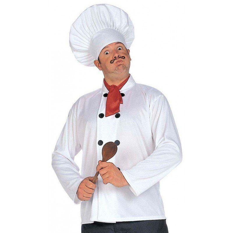 Koch Kostüm-Set 3-teilig - Einheitsgröße