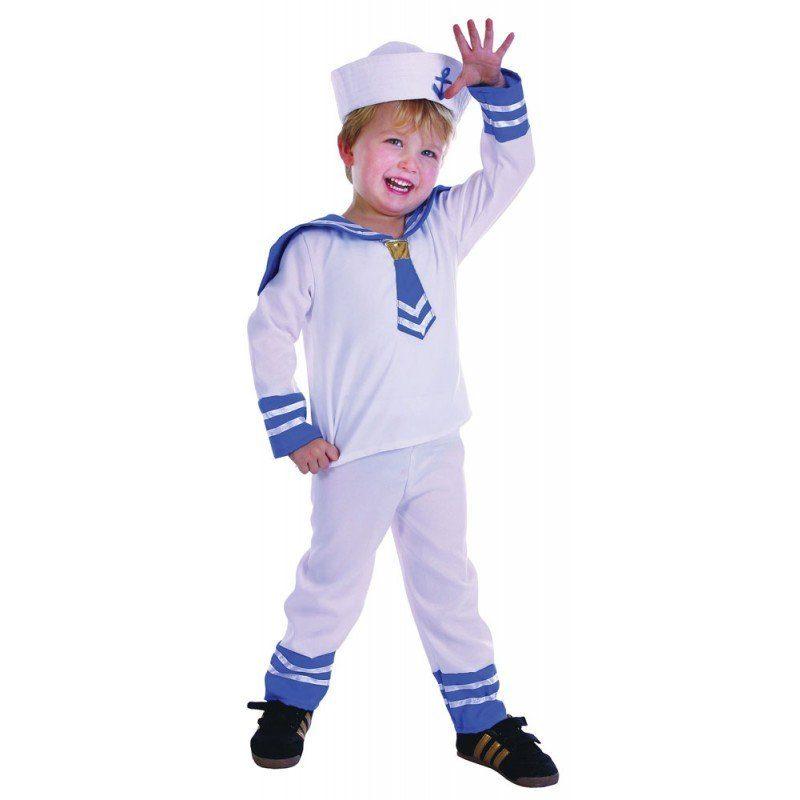 Mini Matrose Kinderkostüm - 92-104