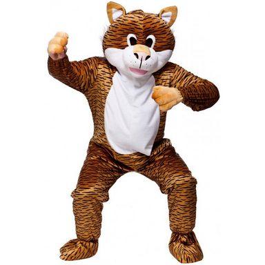 Tiger Maskottchen Kostüm - Einheitsgröße (M-XL)