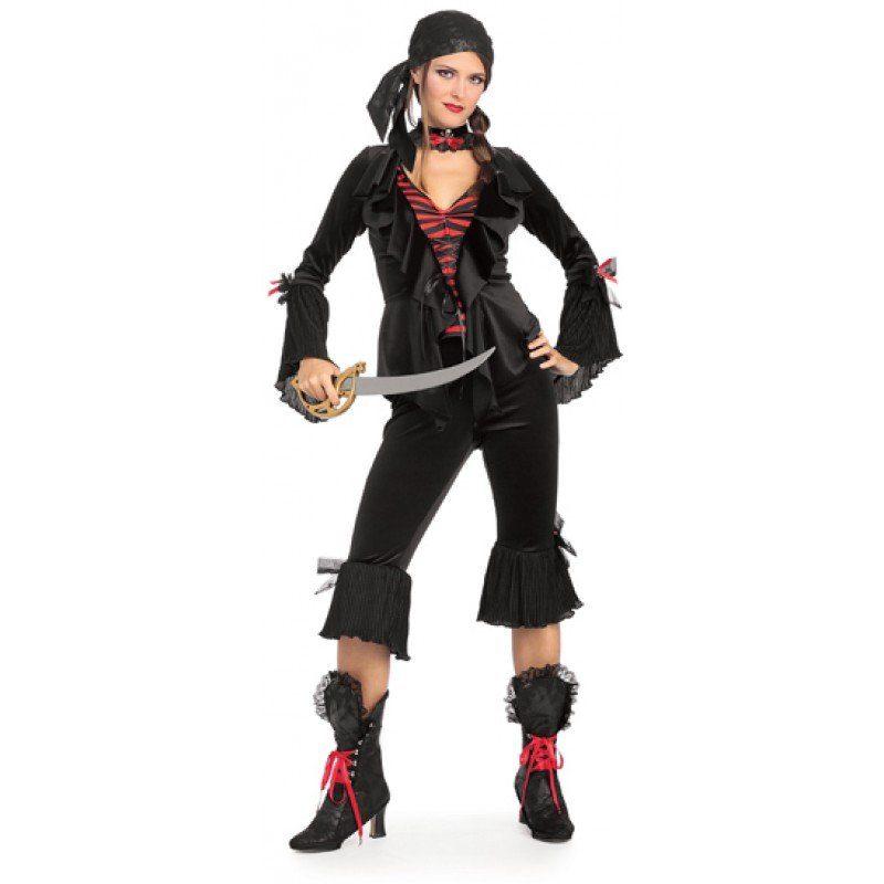 Baroque Piraten Kostüm für Damen - S/M