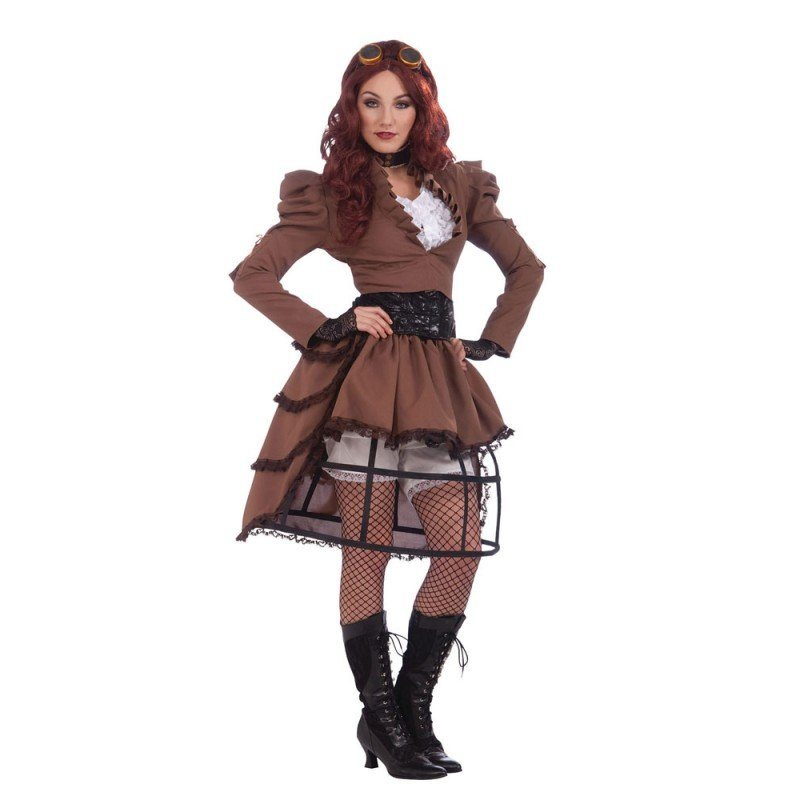 victoria steampunk kostum fur damen s m