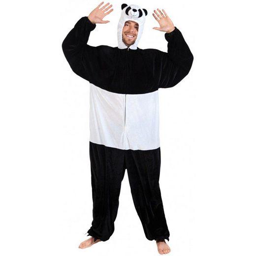 Panda Plüschkostüm Herren - Einheitsgröße (M-XL)