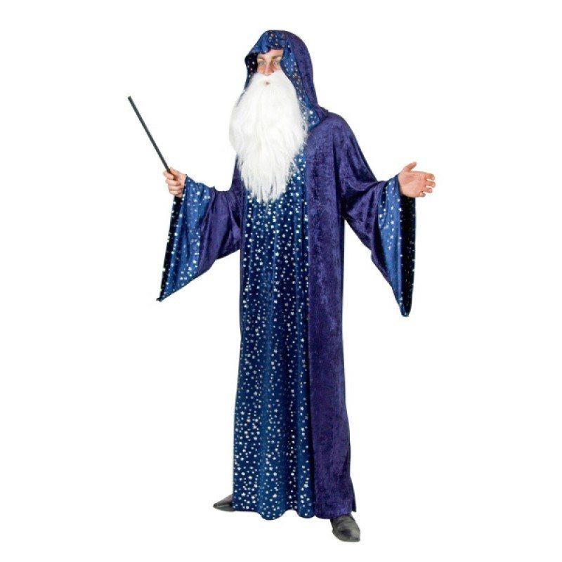 Zauberer mit Trompetenärmel - Einheitsgröße (M-XL)