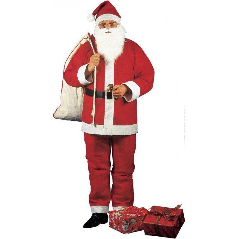 Santa Claus Weihnachtsmann 5-teilig - M/L