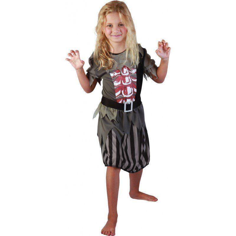 Kleine Halloween Piratin Kost - Kinder (4-6 Jahre)