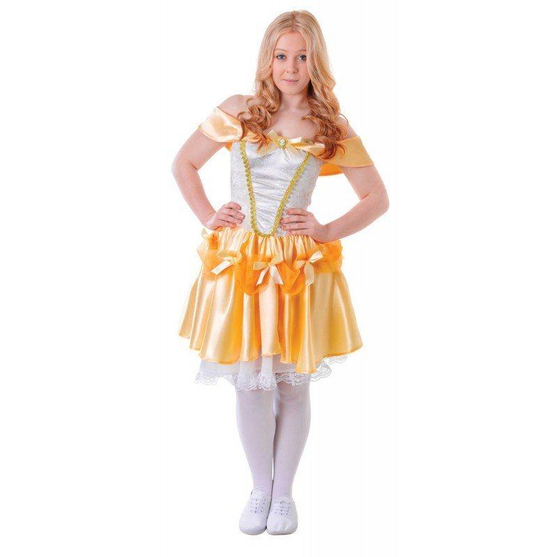 Schöne Belle Teenager Kostüm - XS online kaufen
