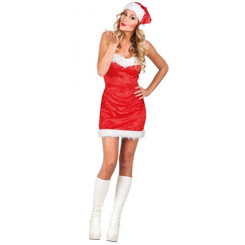 Sexy Weihnachtskleid für Damen - M