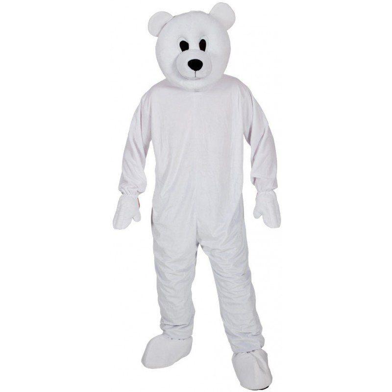 Eisbär Maskottchen Kostüm - Einheitsgröße (M-XL)