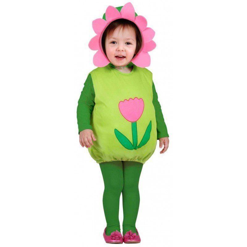 Wiesenblume Kinderkostüm - Einheitsgröße