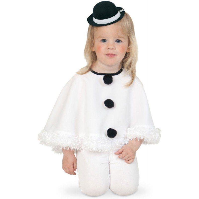 Süßes Schneemann Cape für Kinder - 104 kaufen