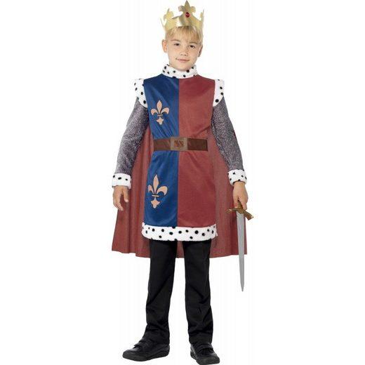 König Paulus Mittelalter Kostüm für Kinder