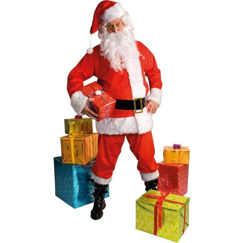 klassisches weihnachtsmann kost m 6 teilig m l otto. Black Bedroom Furniture Sets. Home Design Ideas