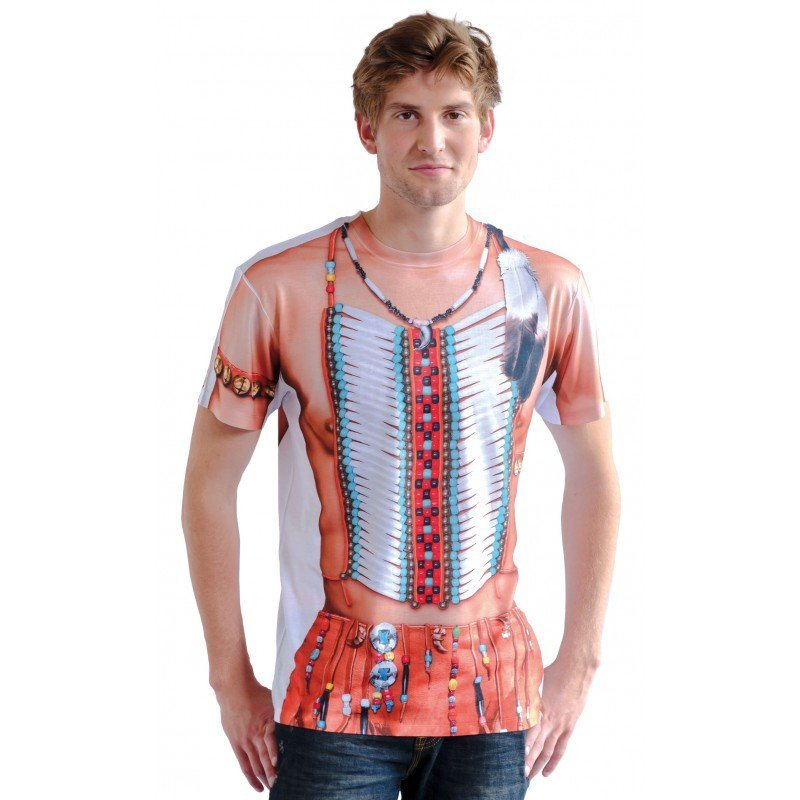 Sioux Indianer Shirt fotorealistisch