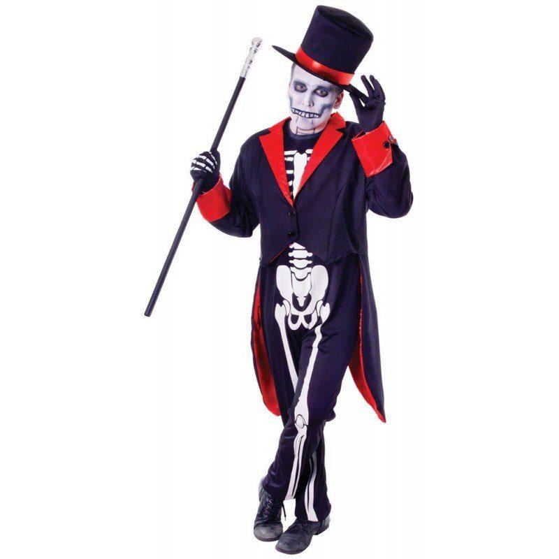 Mister Bones Halloweenkostüm - M/L