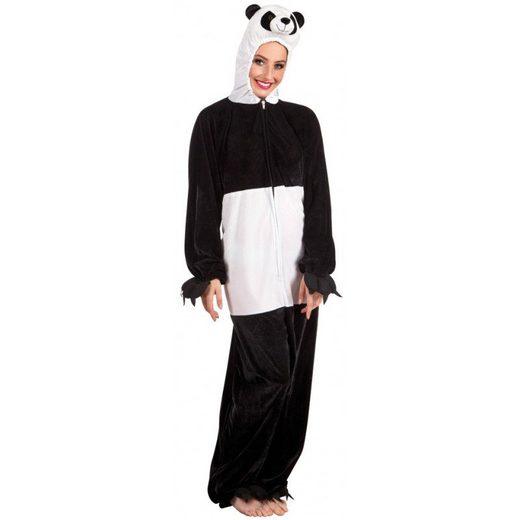 Panda Plüschkostüm Damen - Einheitsgröße (S-L)