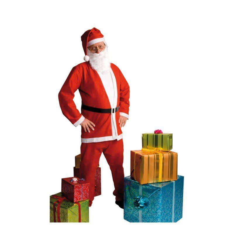 Weihnachtsmann Kostüm Franky - M/L