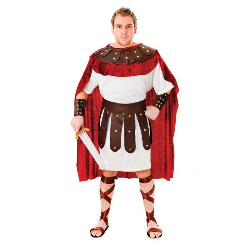 Antiker Krieger Antonius Herrenkostüm - M/L