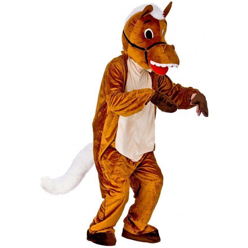 Pferd Maskottchen Kostüm - Einheitsgröße (M-XL)