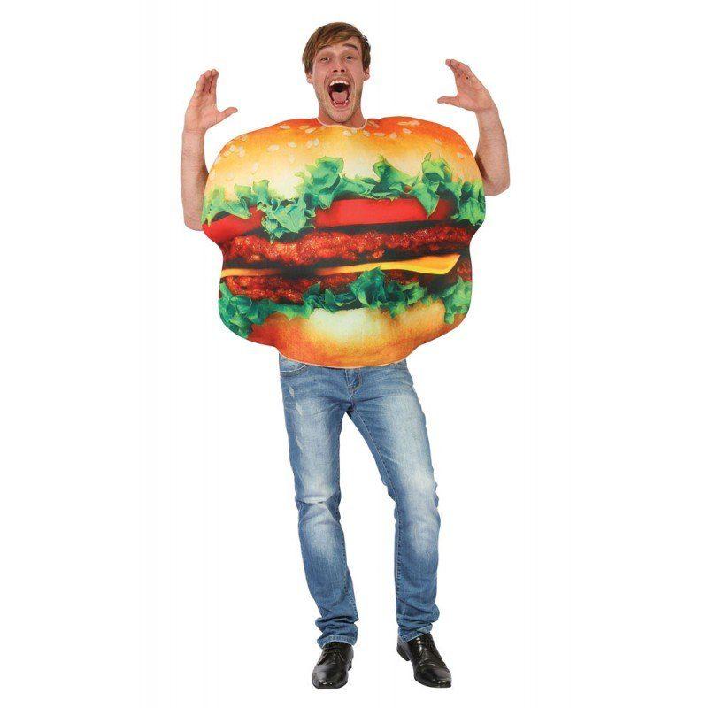 Big Burger Kostüm für Herren - M/L