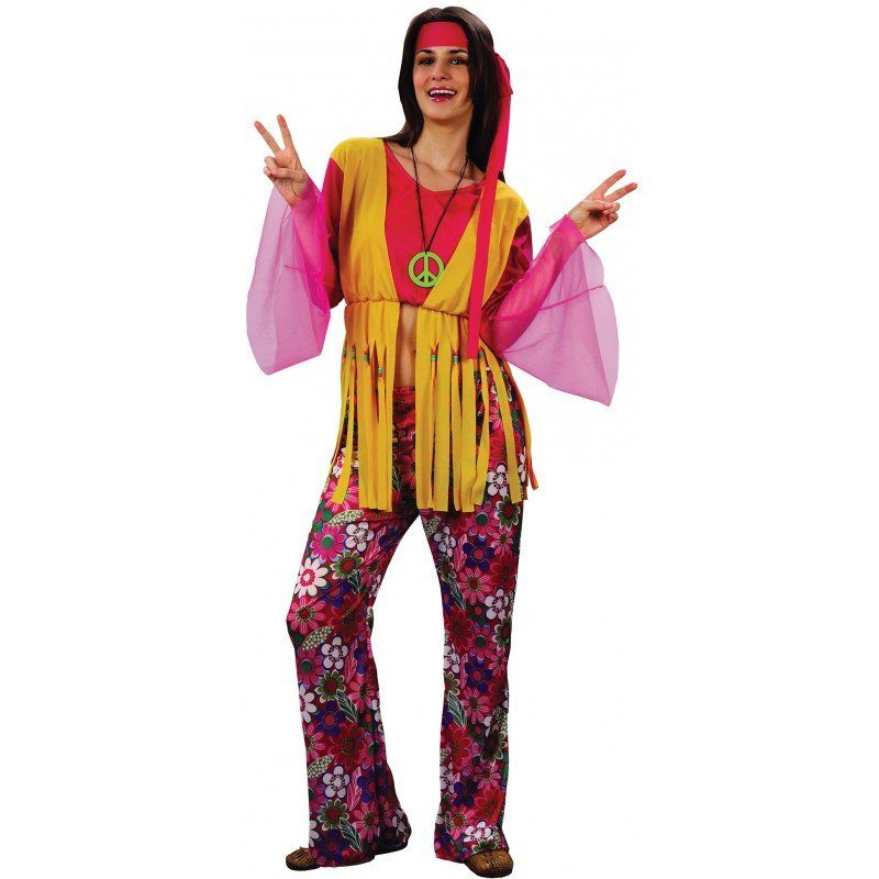 Sunshine Susi Hippie Kostüm - S/M