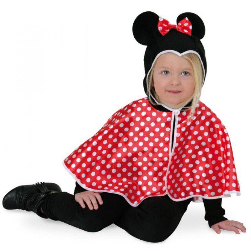Mini Mäuschen Cape für Kinder - 104/116