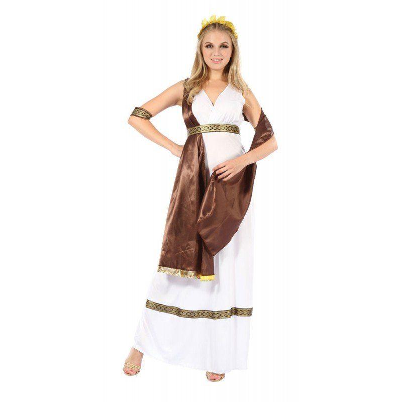 Griechische Schönheitsgöttin Damenkostüm - S/M