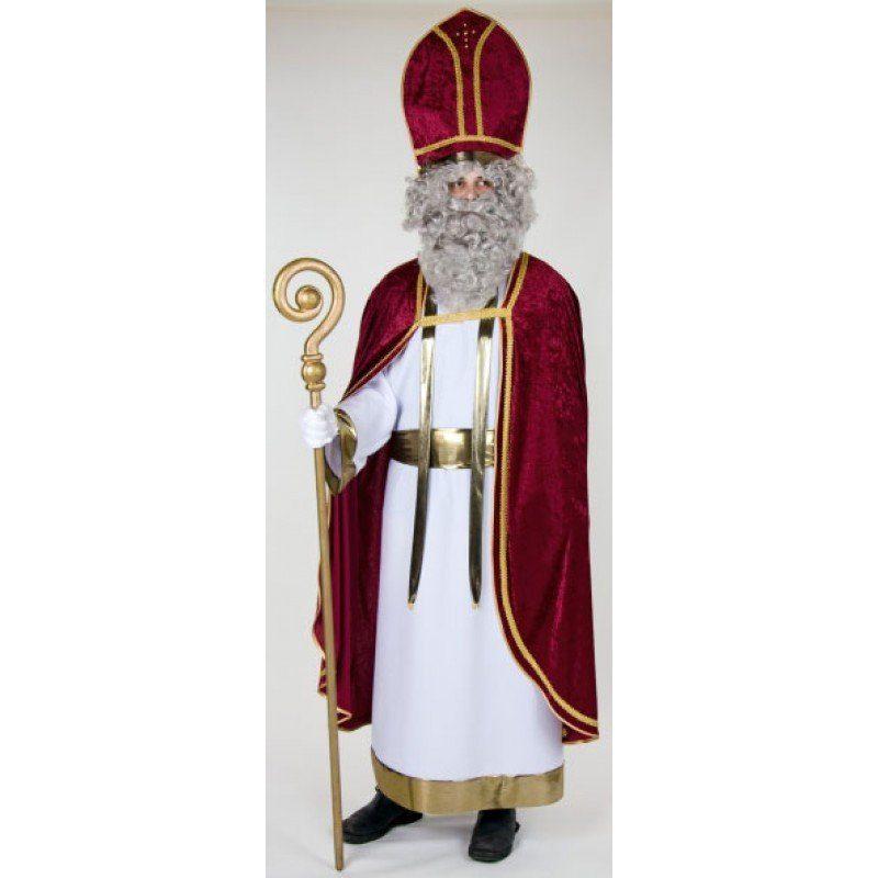 Deluxe Papst Bischof Kostüm - Einheitsgröße (M-XL)