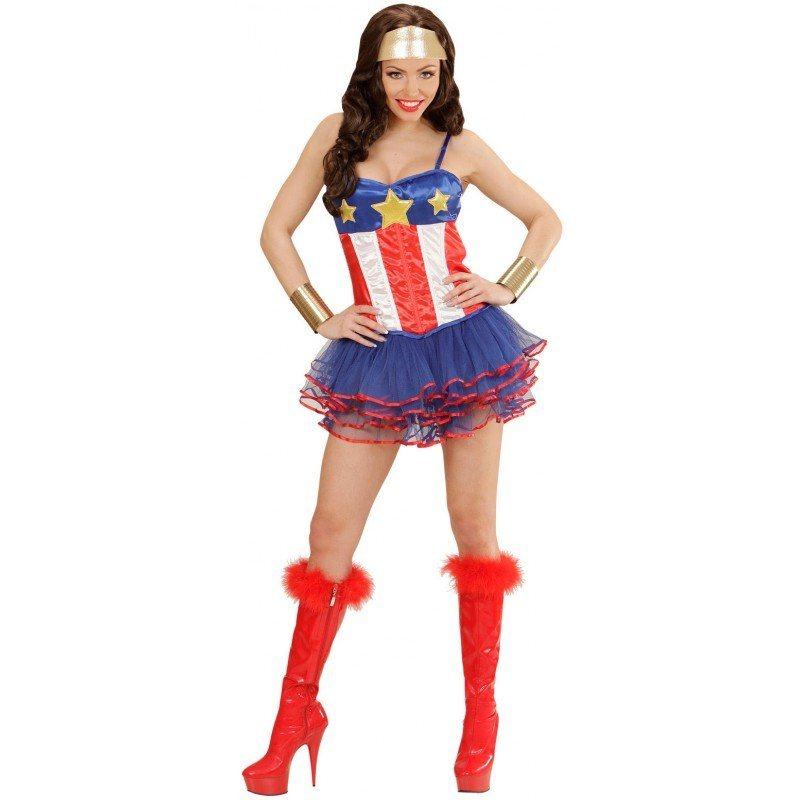 Sexy Super Hero Girl Kostüm - Einheitsgröße kaufen