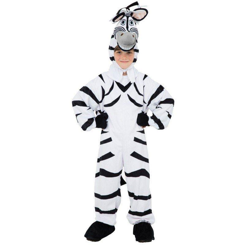 Grinse Zebra Kinderkostüm - 128 online kaufen