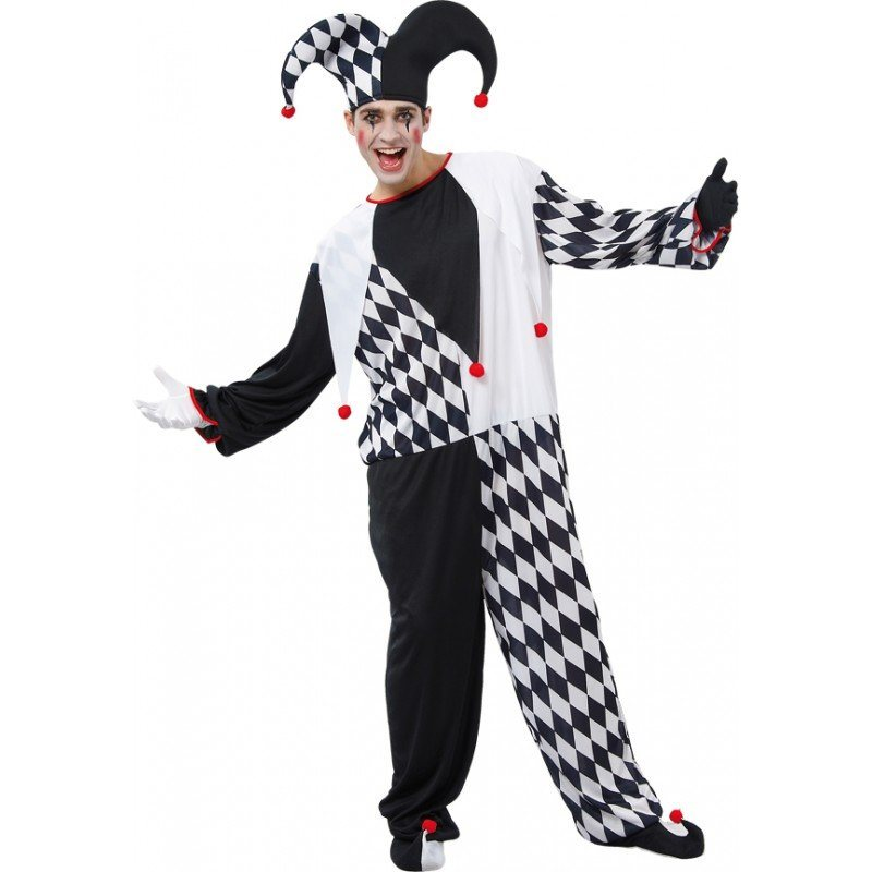 Jolly Jester Clownskostüm - M/L online kaufen