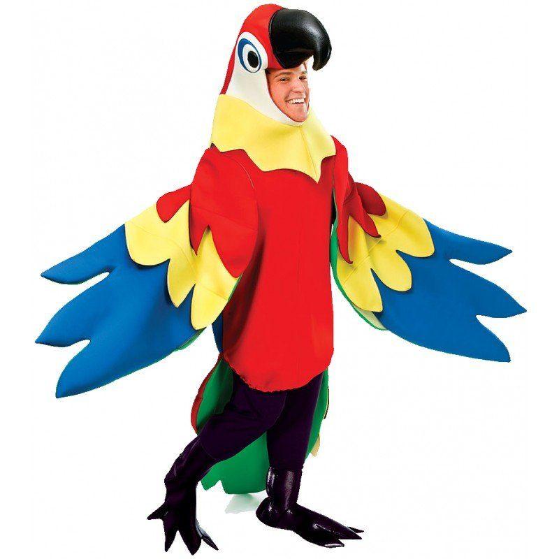 Papagei Kostüm Deluxe - M/L