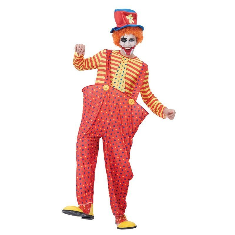 Hula Hoop Clown Herrenkostüm - M/L online kaufen
