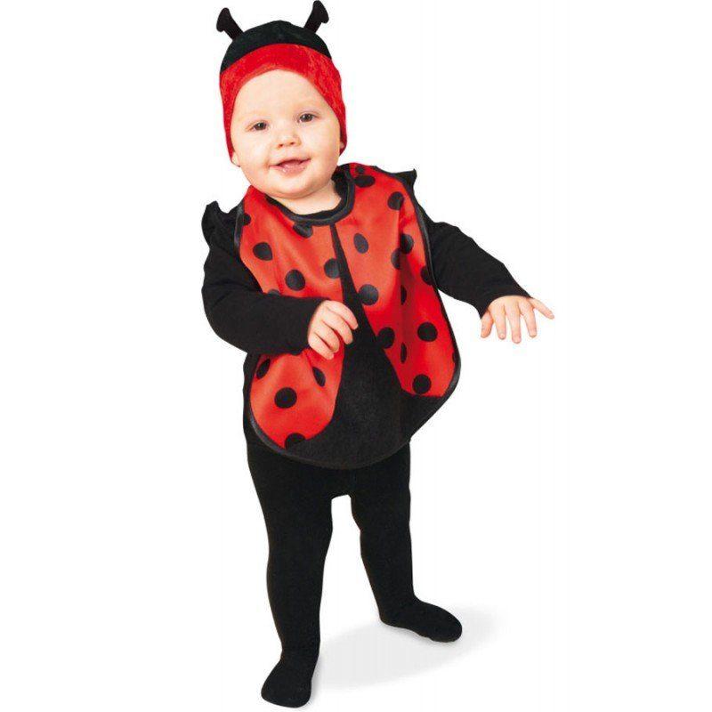Kleines Marienkäferchen Kostüm für Babys - Baby 86
