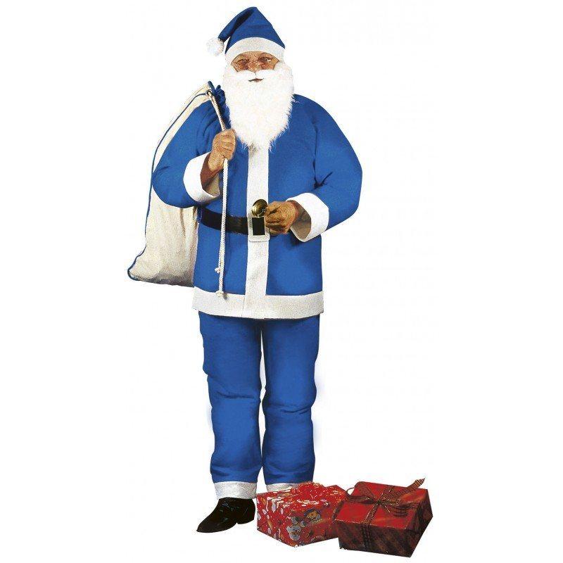 blaues weihnachtsmann kost m 5 teilig m l kaufen otto. Black Bedroom Furniture Sets. Home Design Ideas