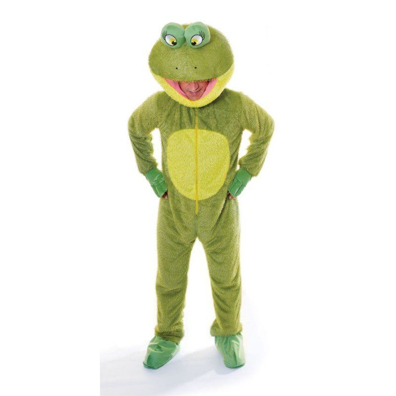 Big Head Froggy Froschkostüm - M/L