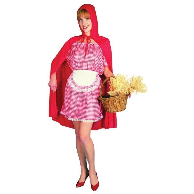 Rotes Käppchen Märchenkostüm für Damen - S/M